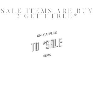 Accessories - BUY 2 GET 1 FREE*
